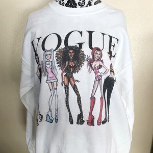 Gildan Tops - Spice Girls Vogue Sweatshirt